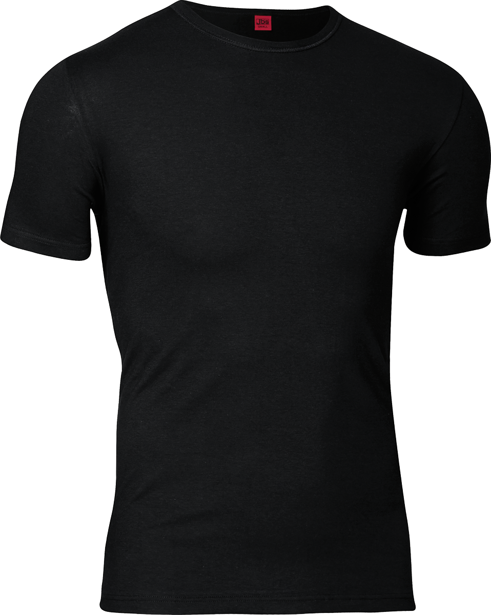 Image of   JBS Black or White T-shirt Med Rund Hals Sort