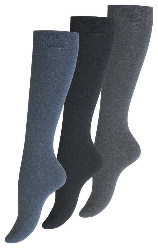 vincent – Knæstrømper uden top-elastik - 3-pak - str. 35-38 på shopwithsocks