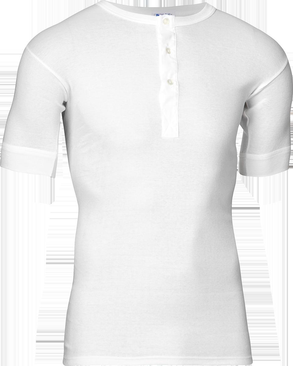 JBS Original T-Shirt Med Knapper Hvid