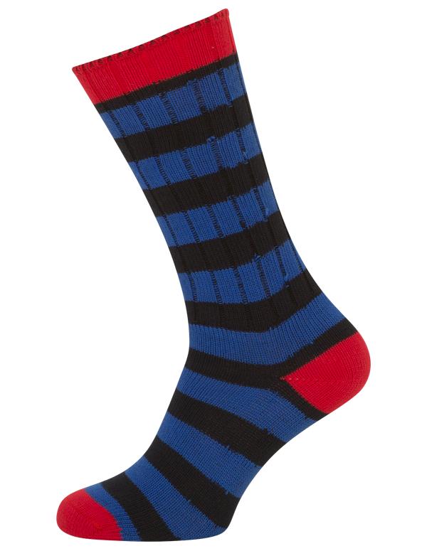 Egtved boot socks med striber fra egtved fra shopwithsocks