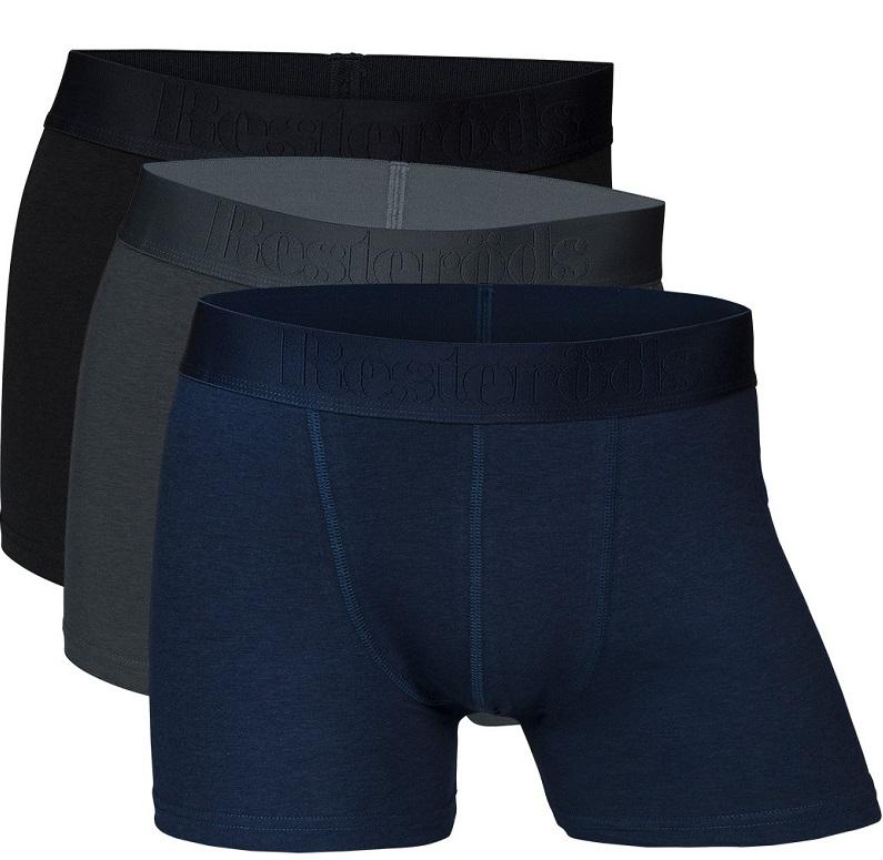 Image of   Resteröds 3-Pak Bambus Boxershorts Str. 2XL