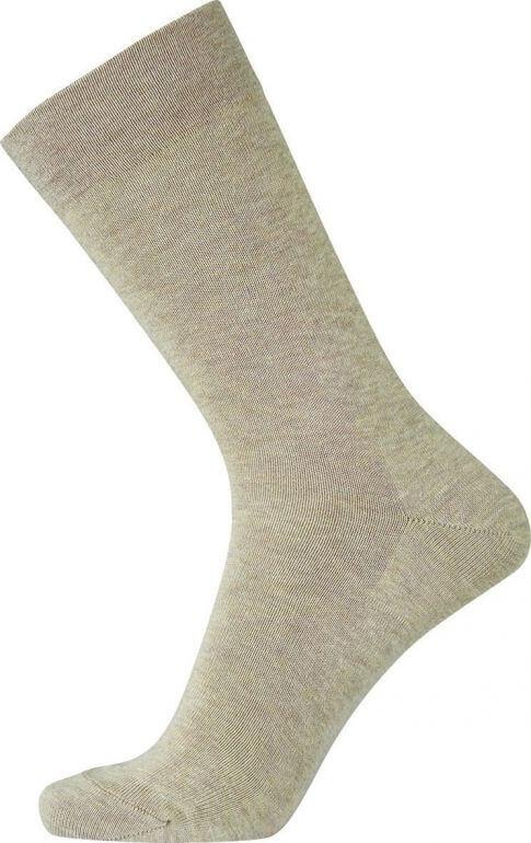 Image of   Beige Egtved bomuldsstrømper uden elastik - Str. 45-48