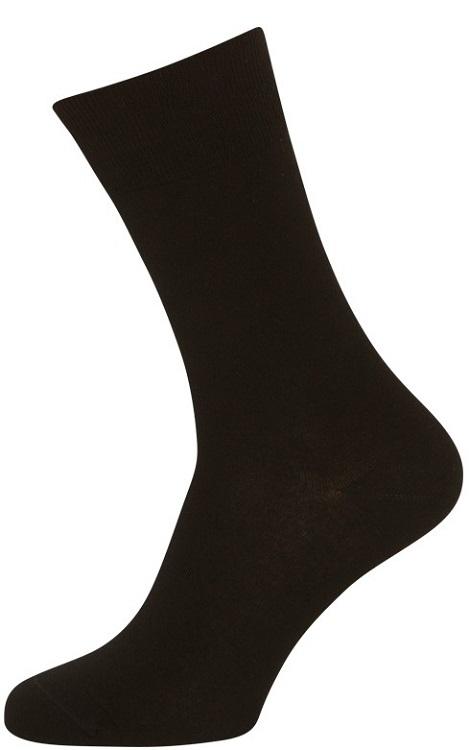 Sorte sokker bomuld - str. 40-47 fra sortesokker.dk fra shopwithsocks