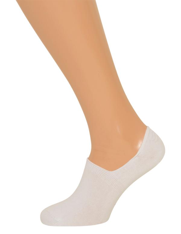 JBS Usynlige Sokker Hvid
