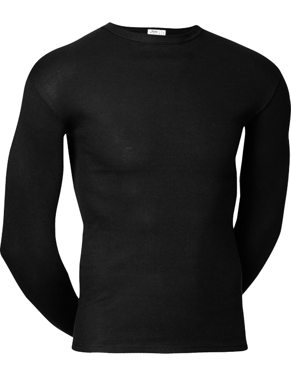 JBS Original Langærmet T shirt Sort