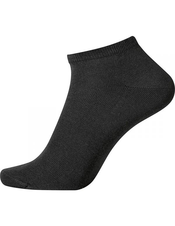 Egtved Ankelsokker 2-pak Sort (Korte Sokker)