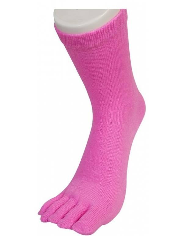 Billige Tåsokker Pink