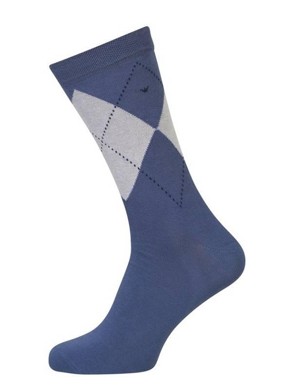 Blå strømper med terner størrelse 51-54