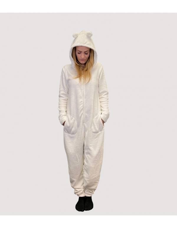 Hvid Decoy Jumpsuit