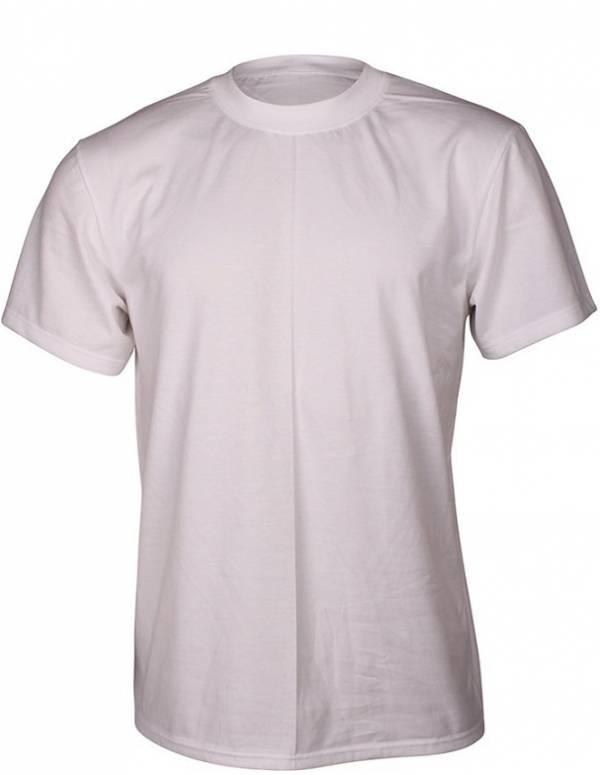 Hvid Dovre T-Shirt Med Rund Hals - Str. 4XL