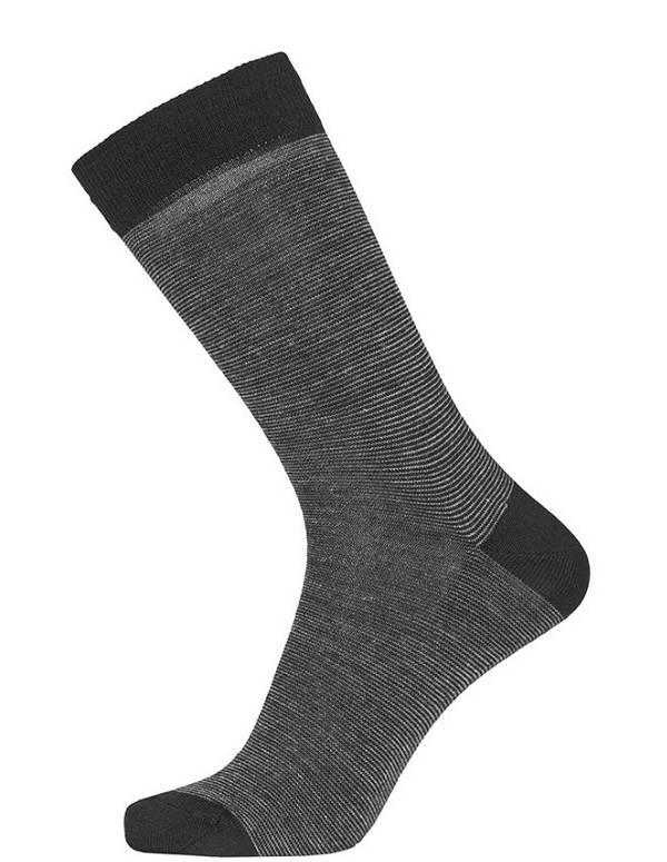 Grå Egtved Twin Sock Uldsokker