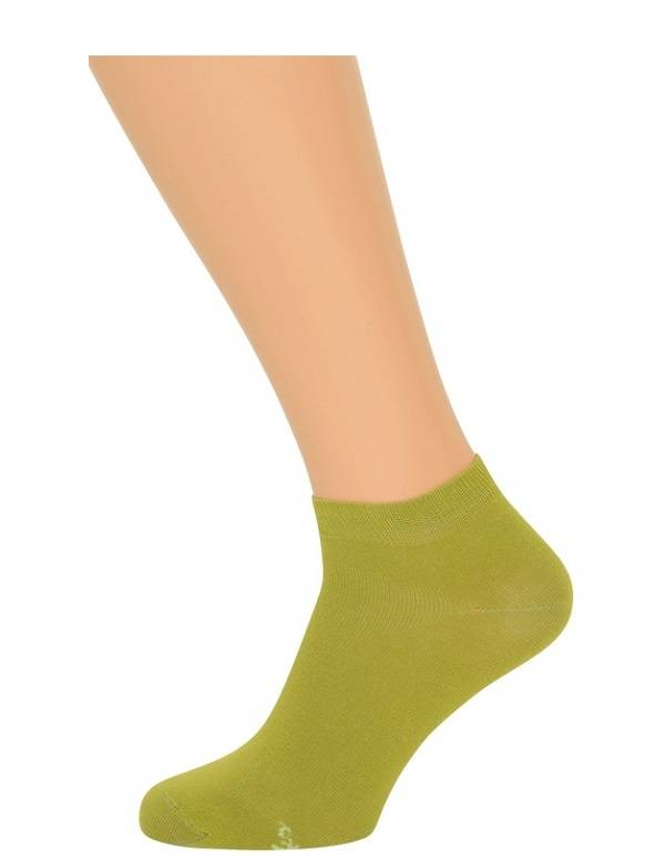Grønne ankelstrømper størrelse 35-38