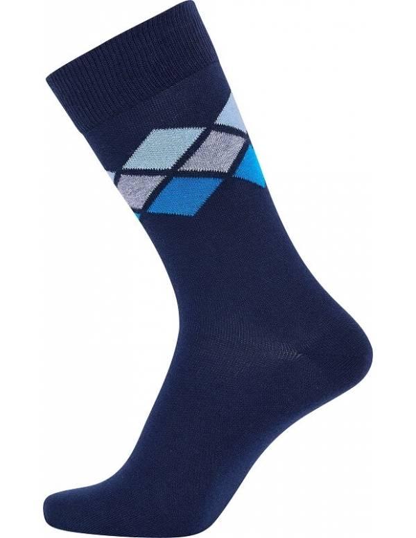 Navyblå JBS sokker med tern