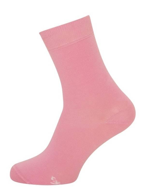Billige pink / lyserøde strømper til damer str. 43-46