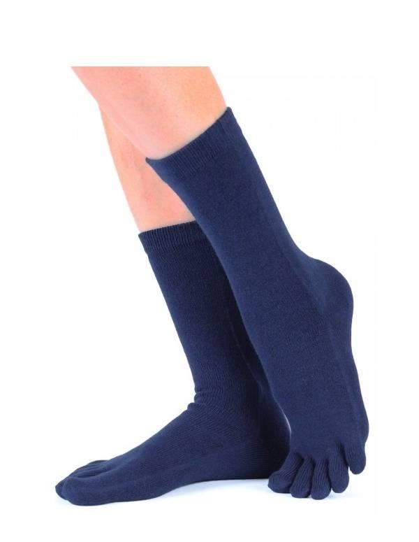 Blå sokker med tæer ToeToe Toesocks