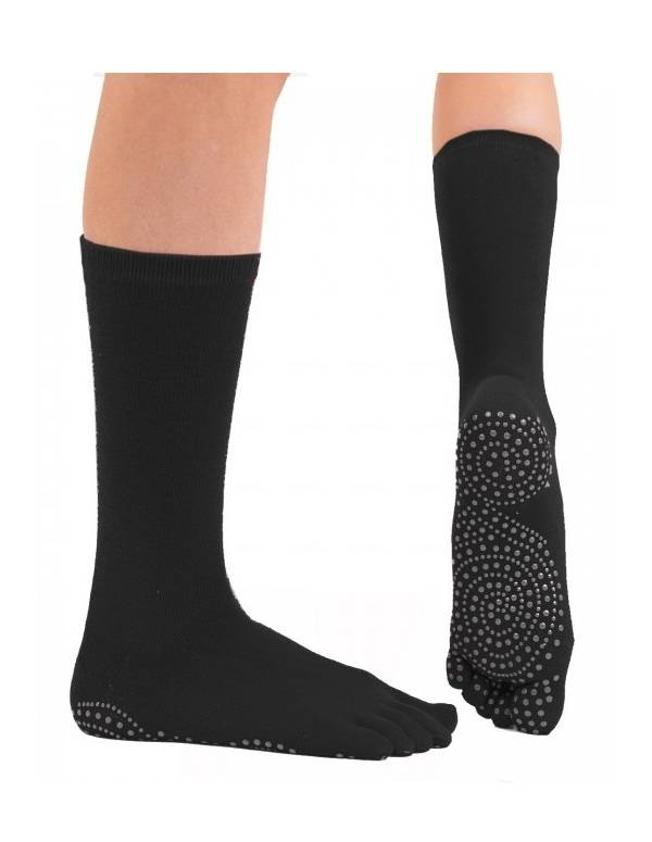 oeToe Yoga & Pilates Mid-Calf Anti-Slip Sokker