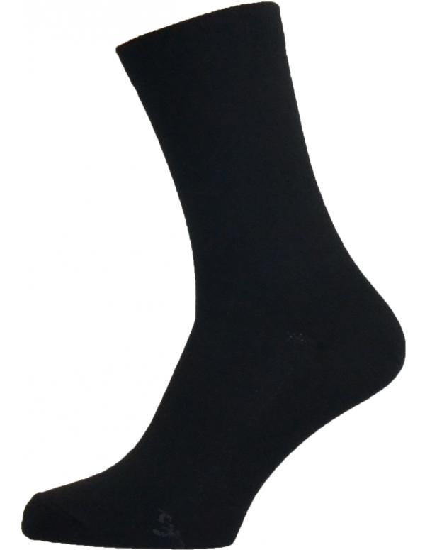 Sorte sokker str 47-54