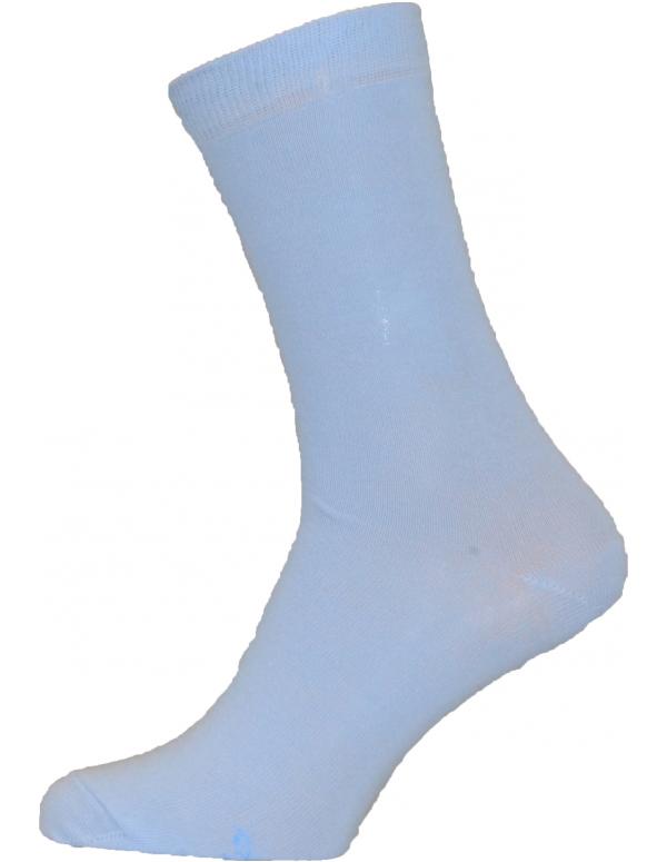 Lyseblå strømper / lyseblå sokker størrelse 51 - 54