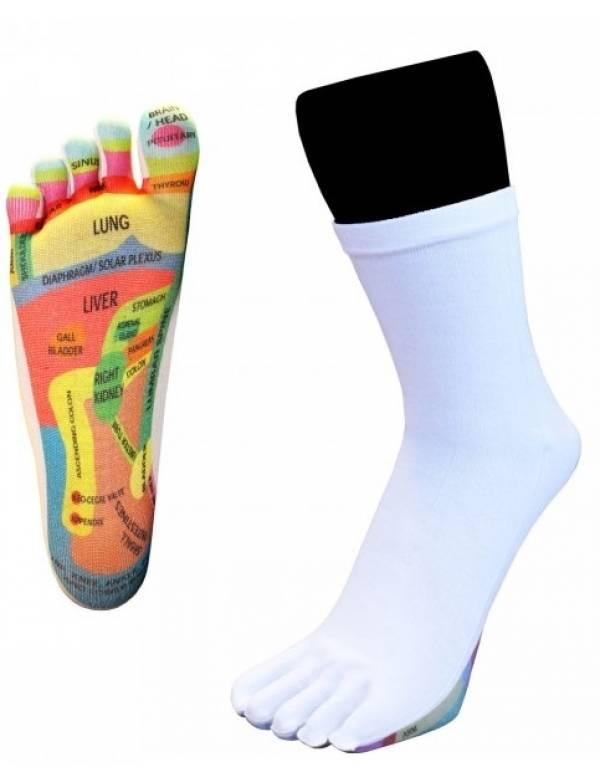 Zoneterapi Tå-Sokker ToeToe Reflexology