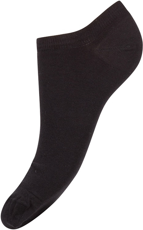 Decoy 20266-1100 ladies thin sneaker sock sort 37-41 fra decoy på shopwithsocks