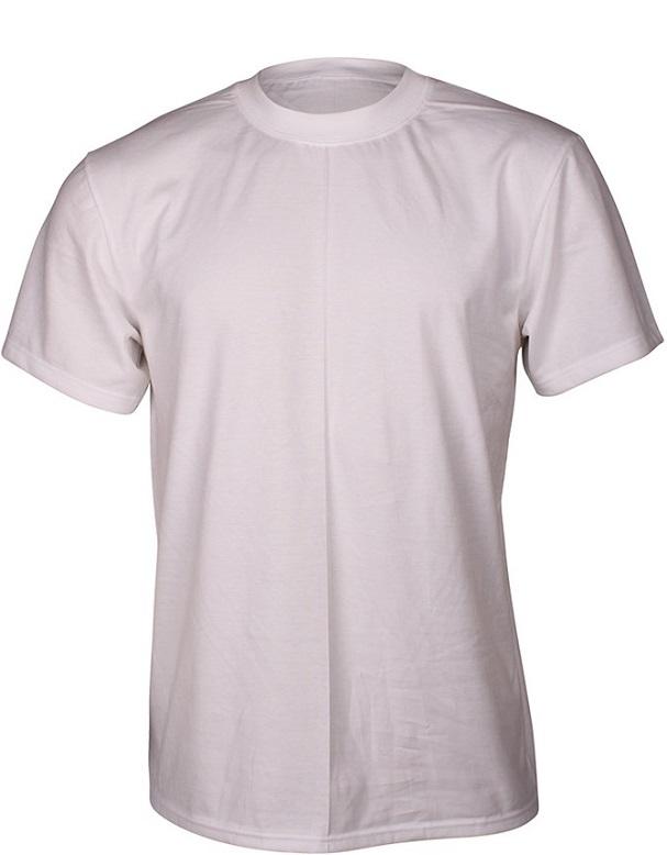 Image of   Hvid Dovre T-Shirt Med Rund Hals - Str. Large