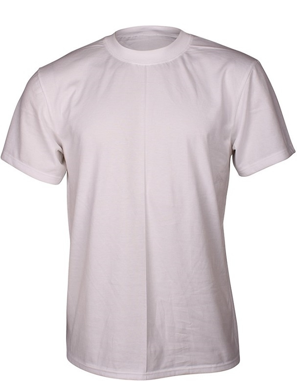 Image of   Hvid Dovre T-Shirt Med Rund Hals - Str. XL