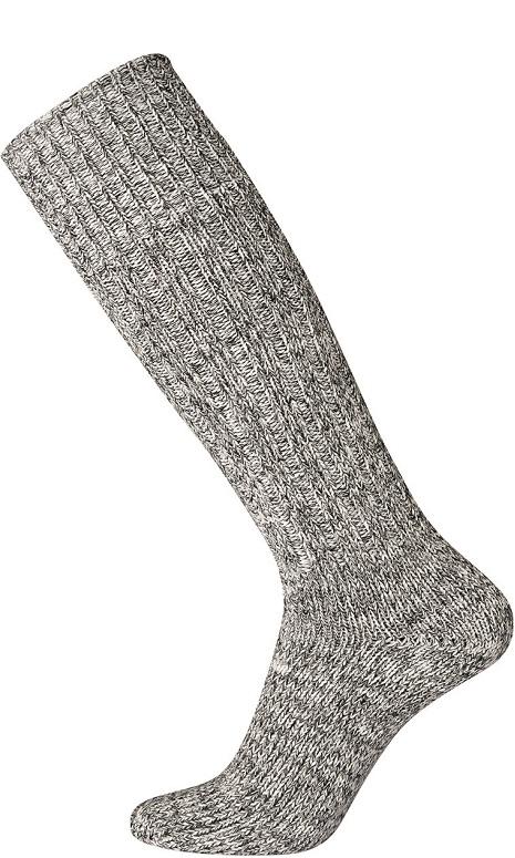 egtved – Grå egtved ragstrømper knælange str. 44-46 på shopwithsocks