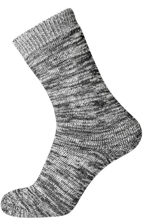 """egtved Egtved uldstrømper """"thermo"""" grå - str. 45-48 fra shopwithsocks"""