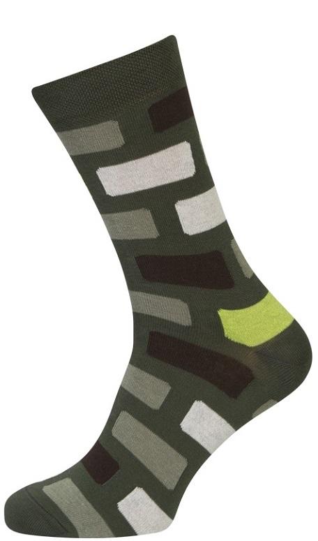Image of   Grønne Sokker med Terner