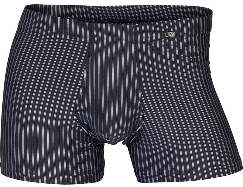 jbs Jbs microfiber exclusive tights blå med striber - str. 2xl på shopwithsocks