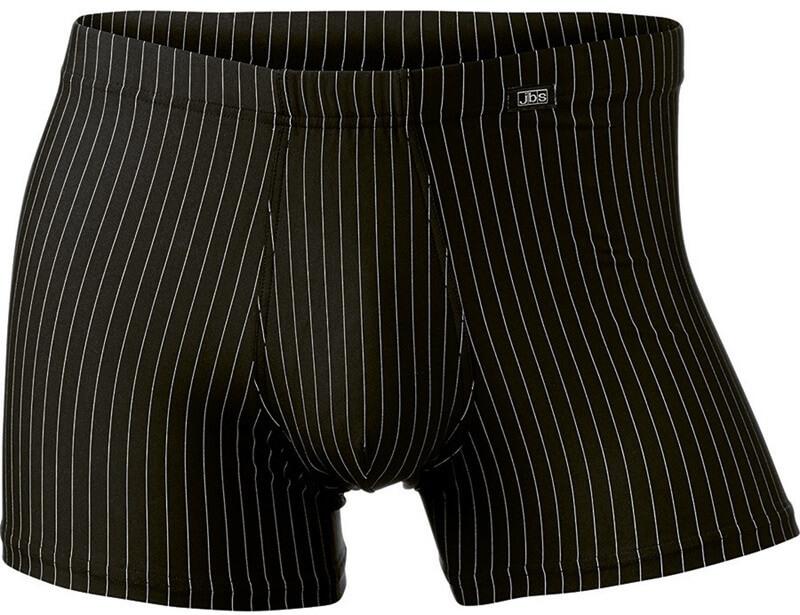 jbs Jbs microfiber exclusive tights sort med striber fra shopwithsocks