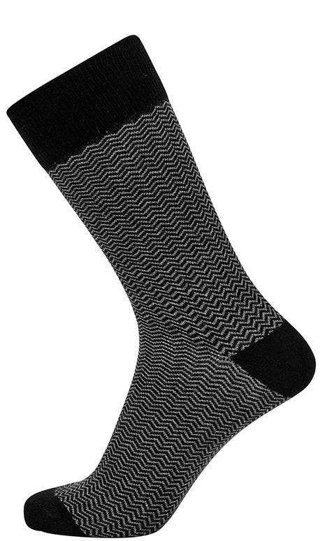 jbs – Jbs sokker med mørkegrå striber på Edgy.dk