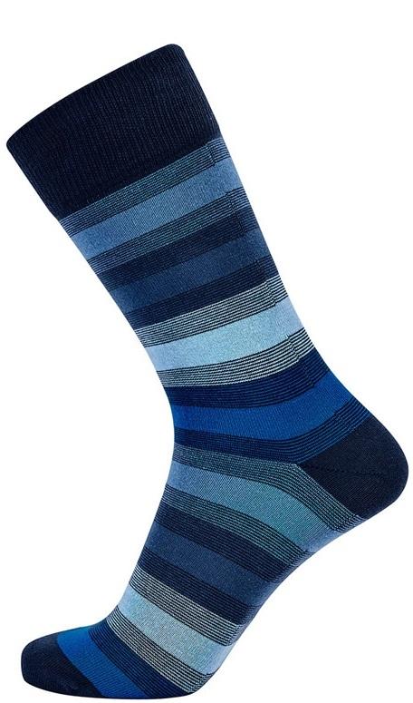Jbs sokker med blå striber fra jbs fra Edgy