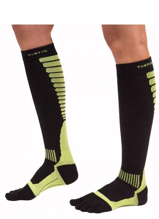 Kompressionsstrømper toetoe sports med tæer str. 36-39 fra toetoe fra shopwithsocks