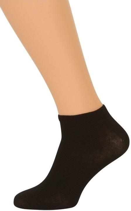 sortesokker.dk – Bambus ankelsokker (korte sokker) sort på shopwithsocks