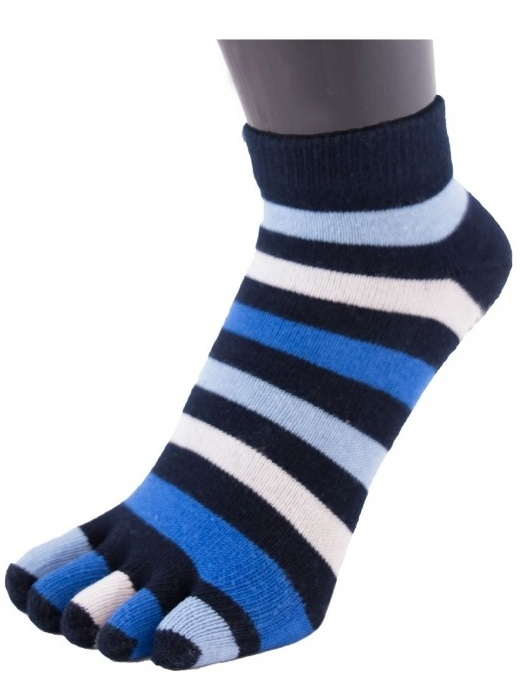 toetoe – Toetoe essential anklet tåstrømper denim fra shopwithsocks