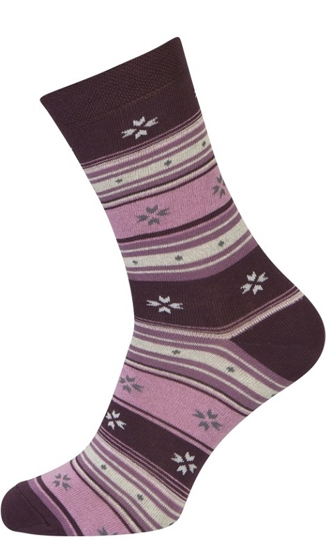 Lilla sokker med striber fra shopwithsocks fra shopwithsocks