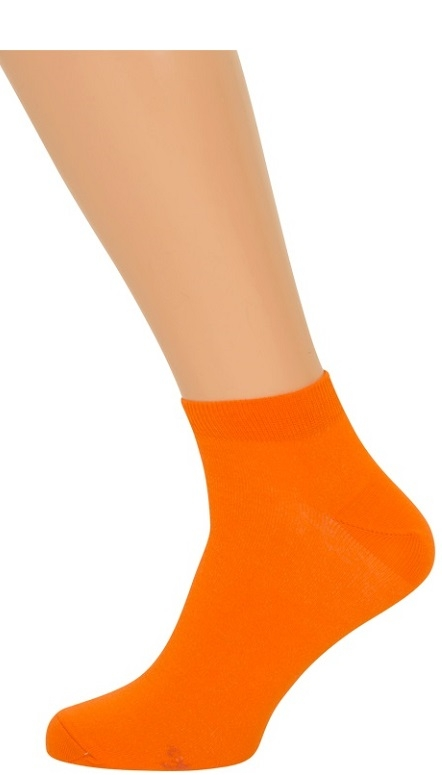 shopwithsocks – Orange ankelsokker (korte sokker) på shopwithsocks