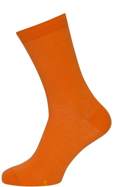 shopwithsocks – Orange strømper str. 51-54 fra shopwithsocks