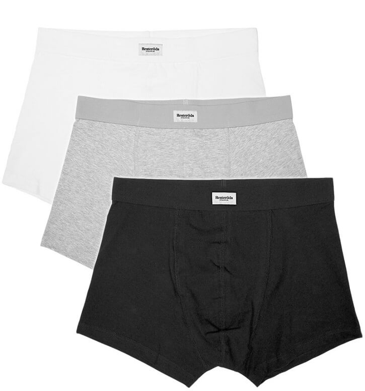 Image of   Resteröds Original 3-Pak Boxershorts - Str. Medium