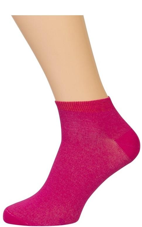 Rosa ankelsokker (korte sokker) fra shopwithsocks fra shopwithsocks