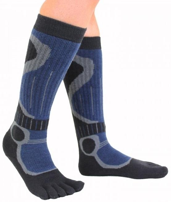 toetoe – Toetoe skistrømper med adskilte tæer str. 44-47 fra shopwithsocks