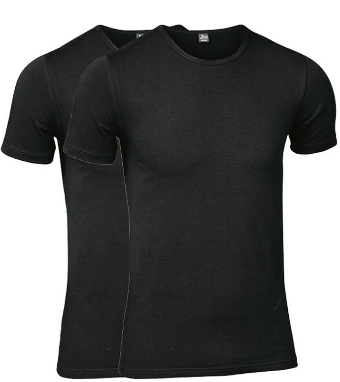 Sorte JBS T-Shirts 2-Pak - Str. XL