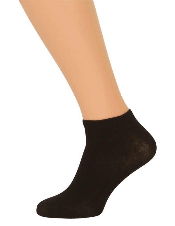 shopwithsocks Sorte ankel sokker - str. 36-39 på shopwithsocks