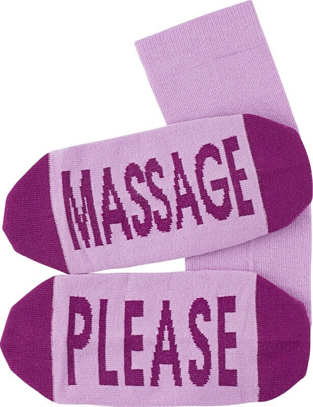 "vincent creation – Statement sokker ""massage please"" fra shopwithsocks"