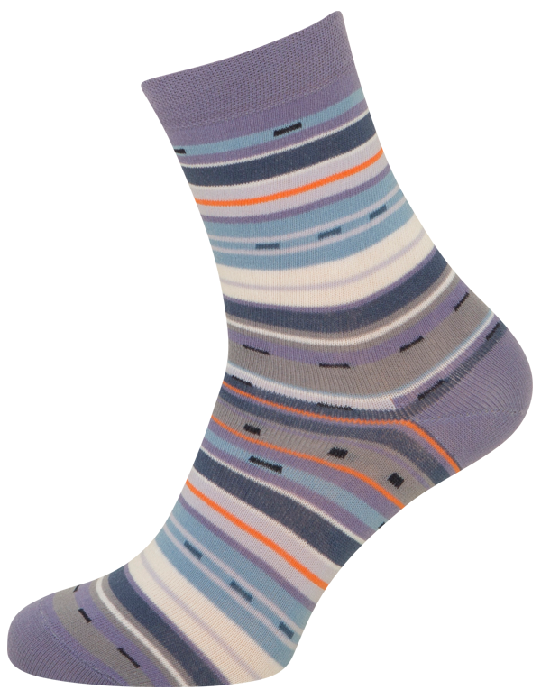 shopwithsocks – Lilla sokker med striber - str. 39-42 på shopwithsocks