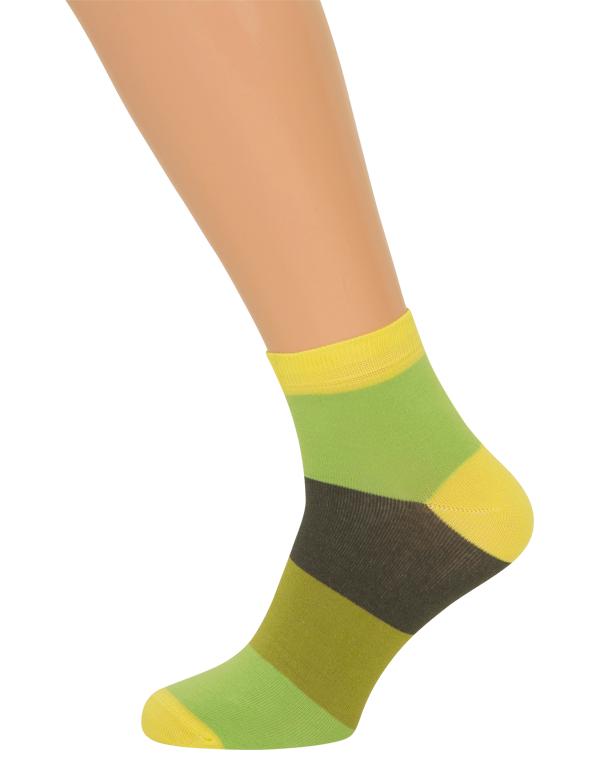 shopwithsocks Ankelsokker med striber (korte sokker) på shopwithsocks