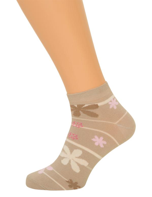 Stribede ankelsokker (korte sokker) fra shopwithsocks på shopwithsocks