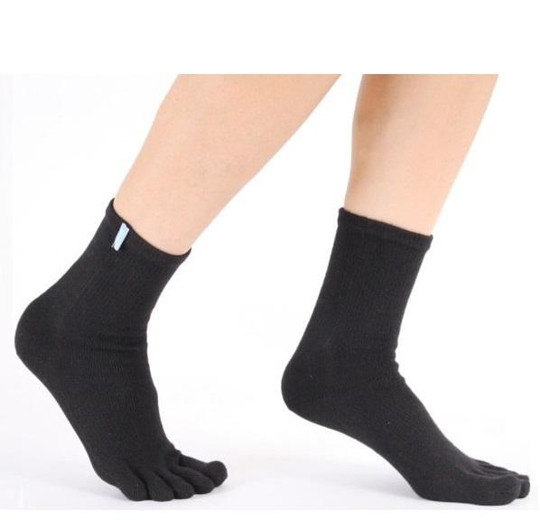 toetoe – Løbe- tåsokker med tæer, toetoe sports running ankle str. 44-47 på shopwithsocks